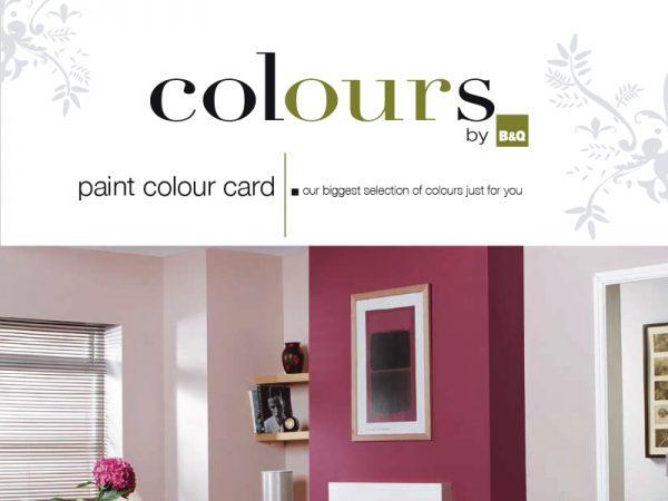 B&Q Paint Brochure Design